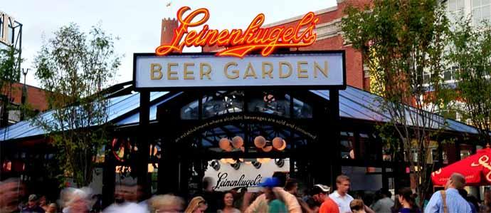 leinenkugel s beer garden this beer garden has over 3 drink baltimore the best happy hours