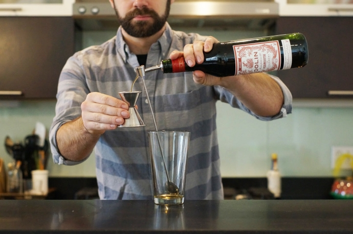 Home Bar Project: How to Make a Martinez - Drink Baltimore ...