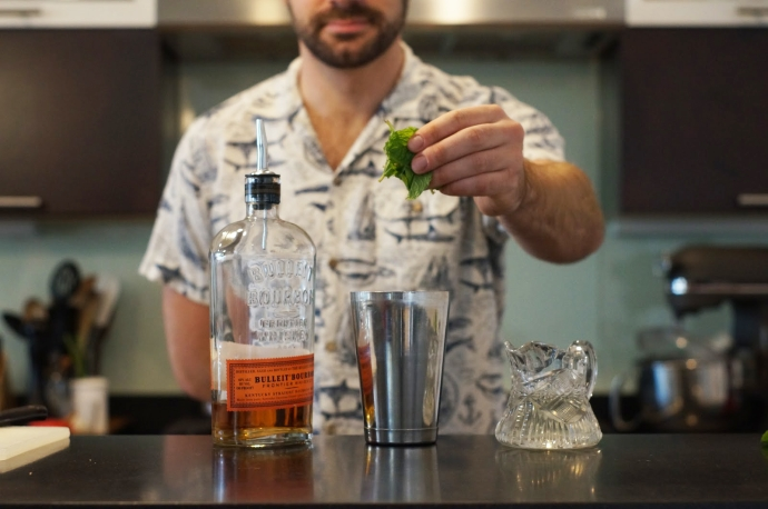 Step 2 of 10: Add healthy pinch of mint. - Drink Baltimore ...