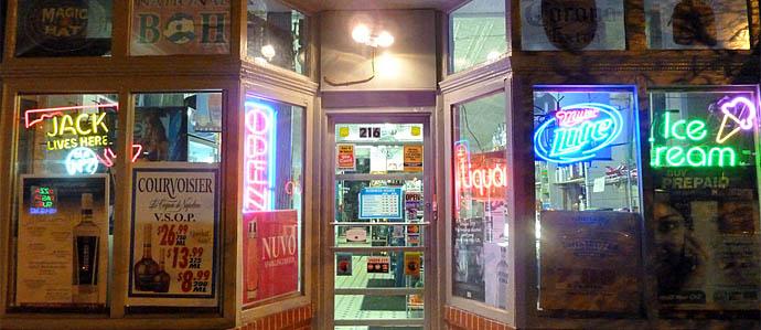 Beer & Liquor Stores in Baltimore, by Neighborhood