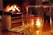 Wine Bar | Warm Up: 14 Baltimore Bars with Fireplaces
