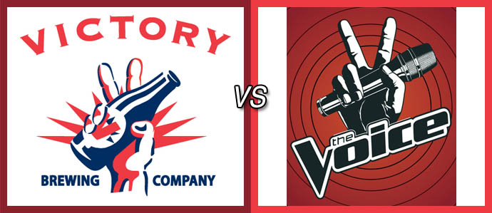 Was Victory Beer the Inspiration for the Logo of NBC's The Voice?