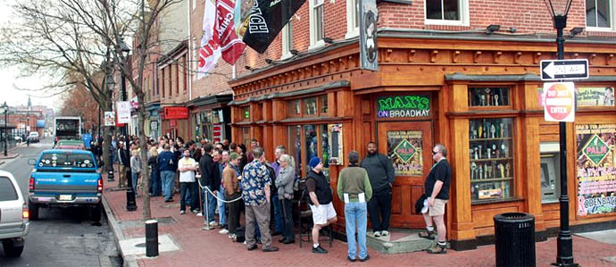 Eighth Annual Belgian Beer Fest at Max's Taphouse, Feb 17-19