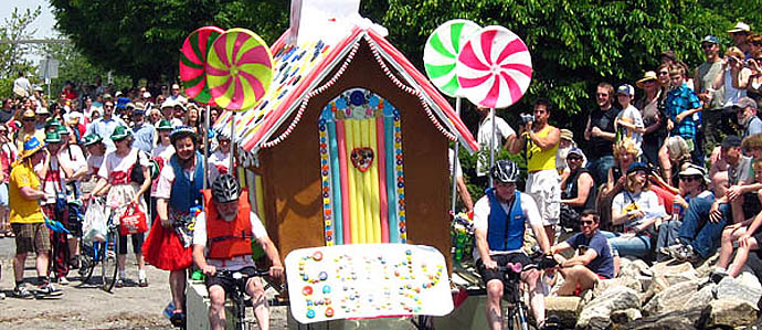 14th Annual Baltimore Kinetic Sculpture Race, May 5
