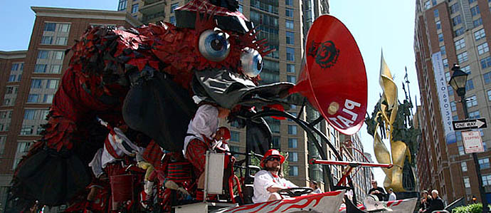 Kinetic Sculpture Race Reception & Fundraiser at Mr. Rain's, May 4