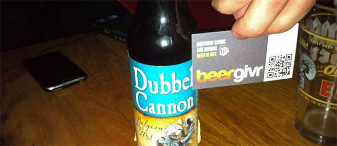 Pay Your Beer Debts with BeerGivr