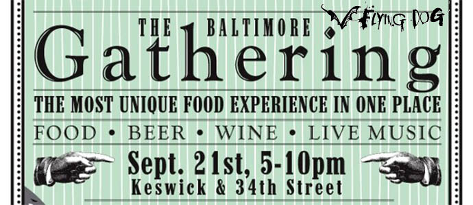 The Gathering Food Truck Pop Up With Flying Dog Beer, September 21