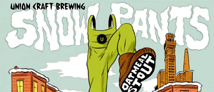 Union Craft Brewing Snow Pants Release Party at Max's Taphouse, January 17