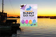Fourth Annual Bunny Bar Hop in Fells Point, March 30