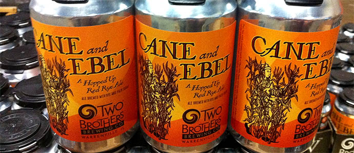 Beer Review: Two Brothers Brewing Cane and Ebel