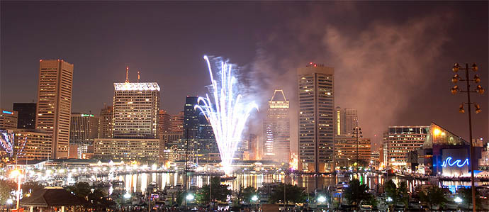 Where to Enjoy Drinks with July 4th Fireworks in Baltimore