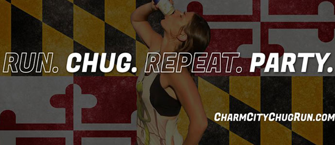 Charm City Chug Run Will Test Your Drinking and Athletic Prowess