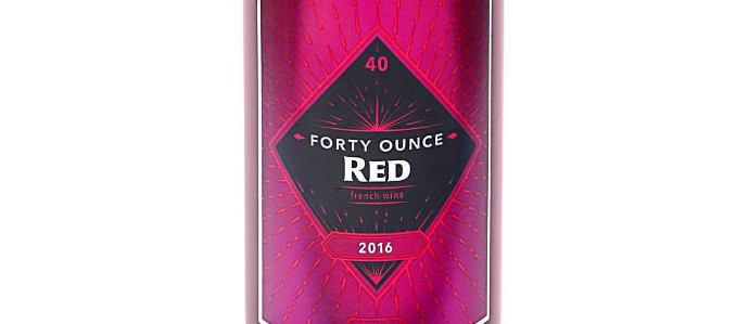 You Can Now Drink Red Wine Out of a Forty, Just in Time for Fall