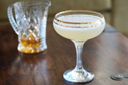 Home Bar Project: How to Make a Bee's Knees