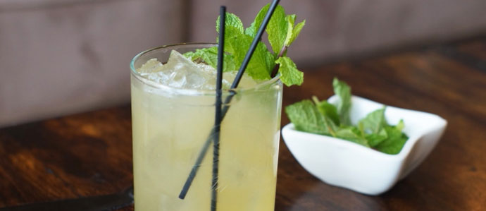 Home Bar Project: How to Make a Whiskey Smash - Drink ...