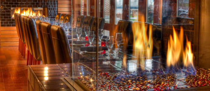 Stay Toasty at These Baltimore Bars with Fireplaces