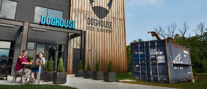 Brewdog Opens Craft Beer Hotel Inside Brewery With Beer on Tap in Rooms in Ohio