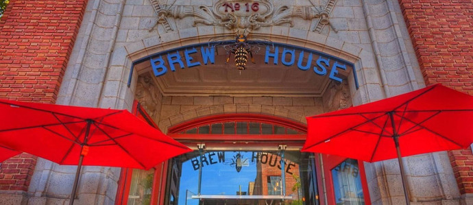 Try the New Traveler Saison At Brew House No. 16