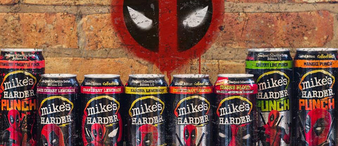 Celebrate Deadpool 2's Release with Pop-Up Bars & Branded Hard Lemonade Cans