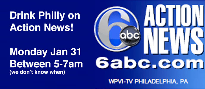 Drink Philly on 6ABC Action News 1/31
