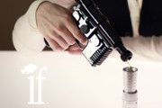 May the Force Be With the Creators of This Han Solo Blaster Flask