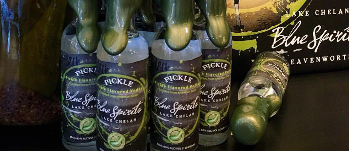 A Washington Distillery Makes Pickle Vodka and We're Into It